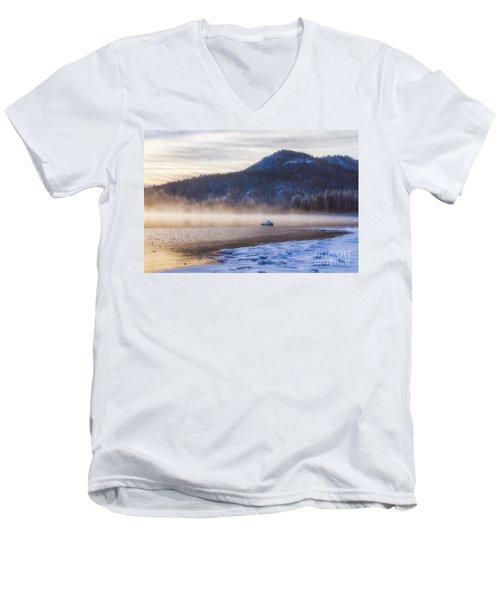 Winter Mist Men's V-Neck T-Shirt