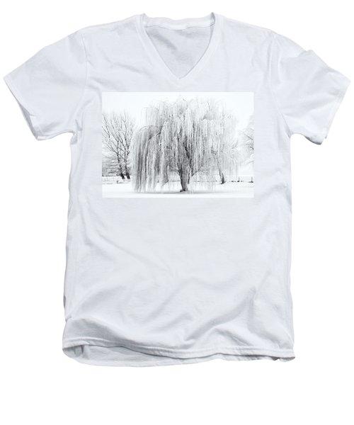 Winter Willow Men's V-Neck T-Shirt