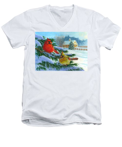 Winterlude Men's V-Neck T-Shirt