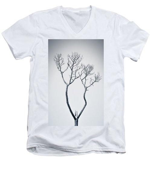 Wishbone Tree Men's V-Neck T-Shirt