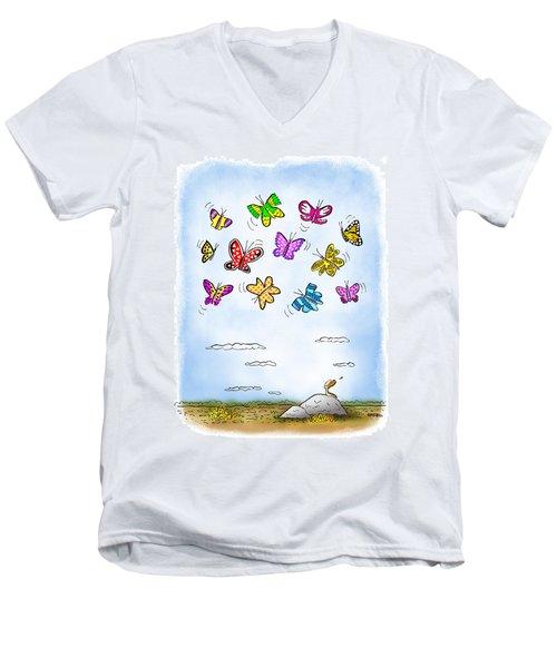 Wistful  Men's V-Neck T-Shirt