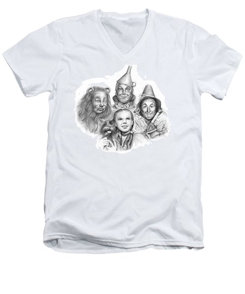 Wizard Of Oz Men's V-Neck T-Shirt