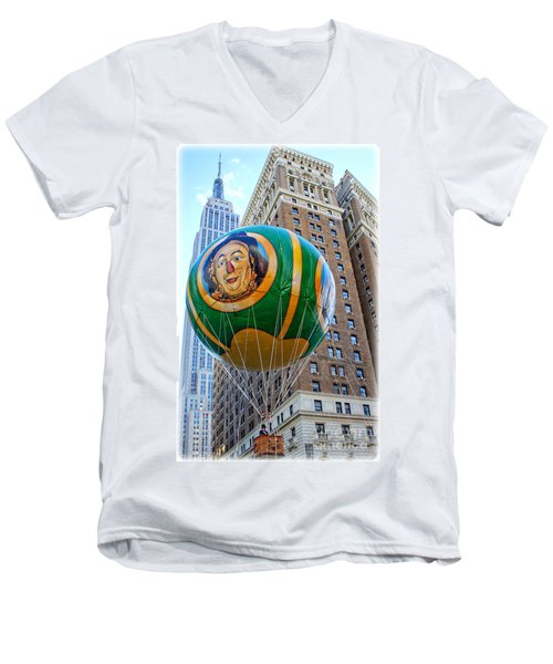 Wizard Of Oz In New York  Men's V-Neck T-Shirt