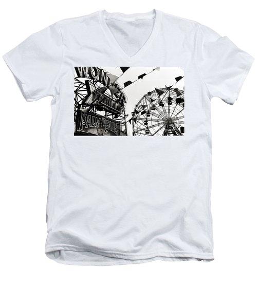 Wonder Wheel Men's V-Neck T-Shirt