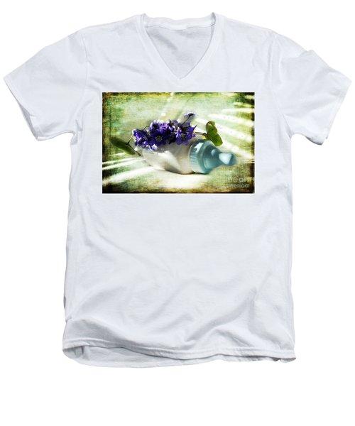 Wonders Happen In The Spring Men's V-Neck T-Shirt