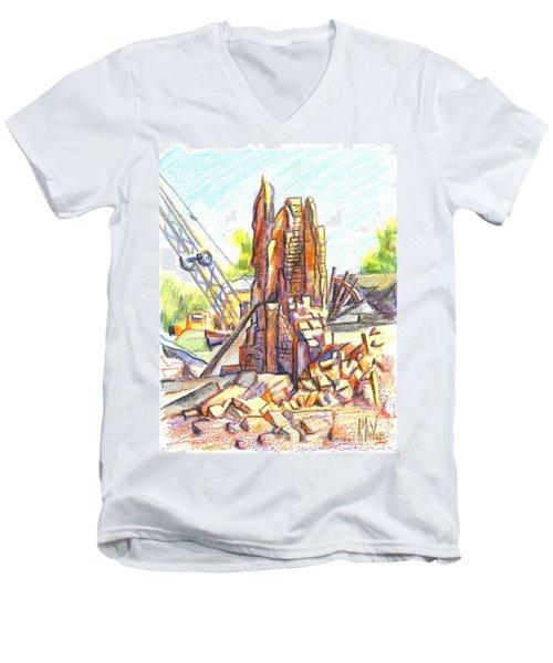 Wrecking Ball Men's V-Neck T-Shirt