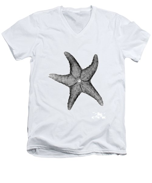 X-ray Of Starfish Men's V-Neck T-Shirt