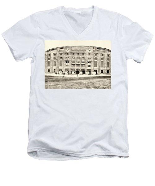 Yankee Stadium Men's V-Neck T-Shirt