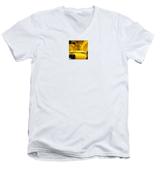 Yellow Tubes Men's V-Neck T-Shirt