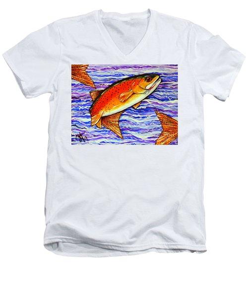 Yellowstone Cutthroat Men's V-Neck T-Shirt