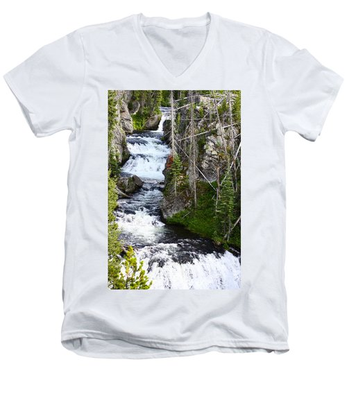 Yellowstone River Men's V-Neck T-Shirt
