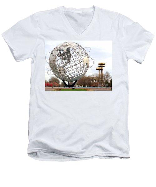 Yesterdays Glory Men's V-Neck T-Shirt by Ed Weidman