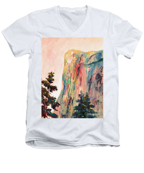 Yosemite El Capitan Men's V-Neck T-Shirt