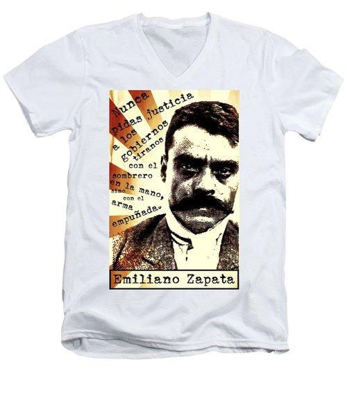 Zapatismo Men's V-Neck T-Shirt