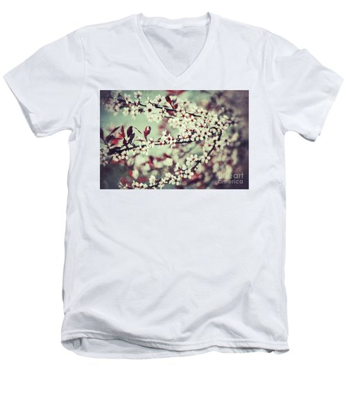 Cherry Men's V-Neck T-Shirt
