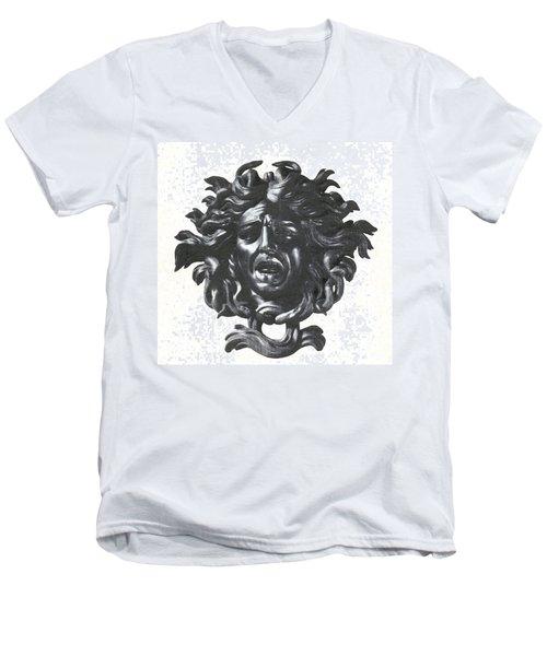 Medusa Head Men's V-Neck T-Shirt