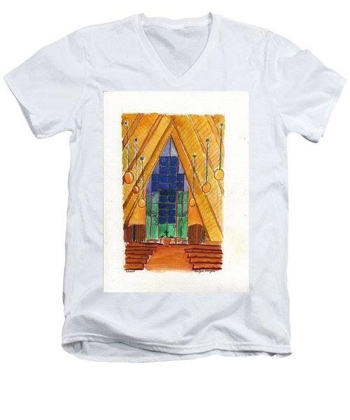 Placerville Chapel Men's V-Neck T-Shirt