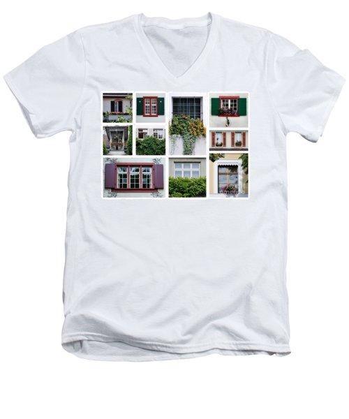 Swiss Windows Men's V-Neck T-Shirt