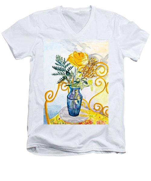 The Blue Vase Men's V-Neck T-Shirt