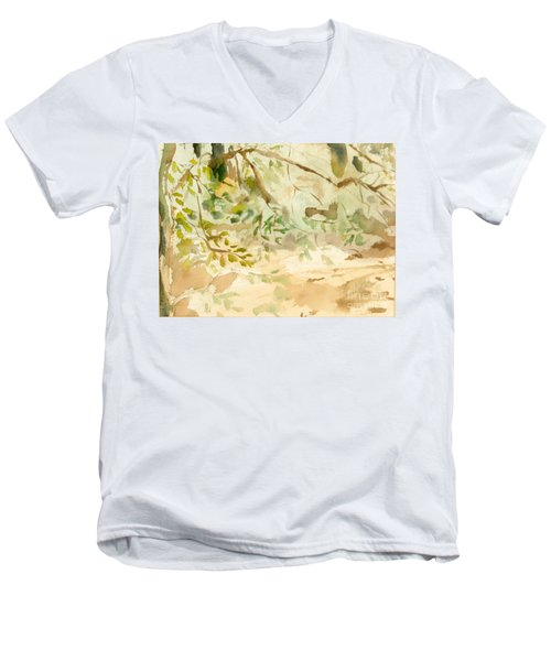 The Breeze Between Men's V-Neck T-Shirt
