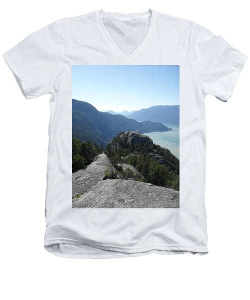 The Chief Men's V-Neck T-Shirt by Michael Standen Smith