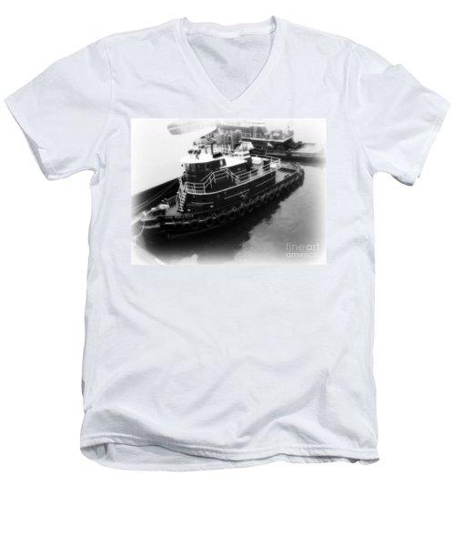 Tug  Men's V-Neck T-Shirt