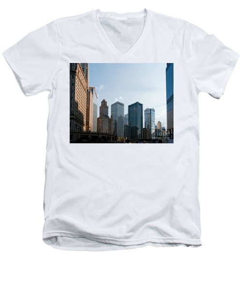 Chicago City Center Men's V-Neck T-Shirt