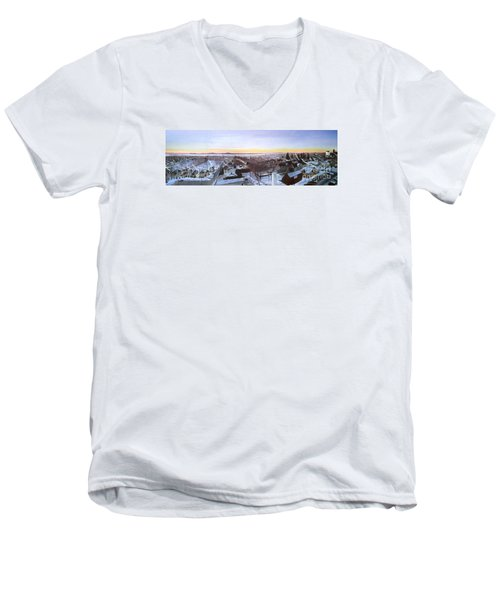 Sentinels At Dawn Men's V-Neck T-Shirt