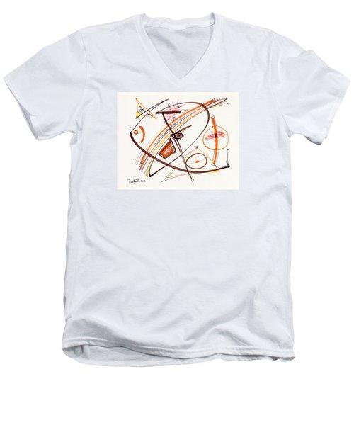 2012 Drawing #14 Men's V-Neck T-Shirt