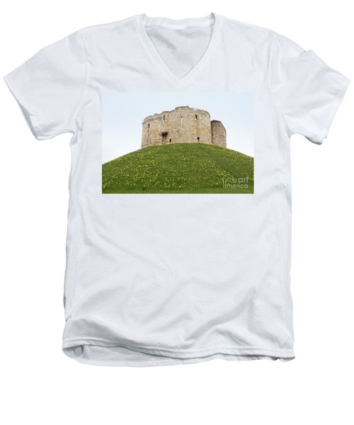Scenes From The City Of York  Men's V-Neck T-Shirt