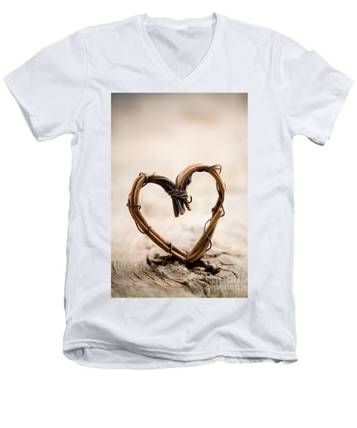 Valentine Heart Men's V-Neck T-Shirt