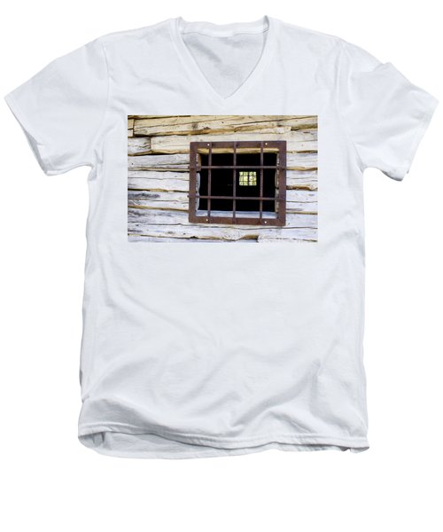 A Glimpse Into Another World Men's V-Neck T-Shirt