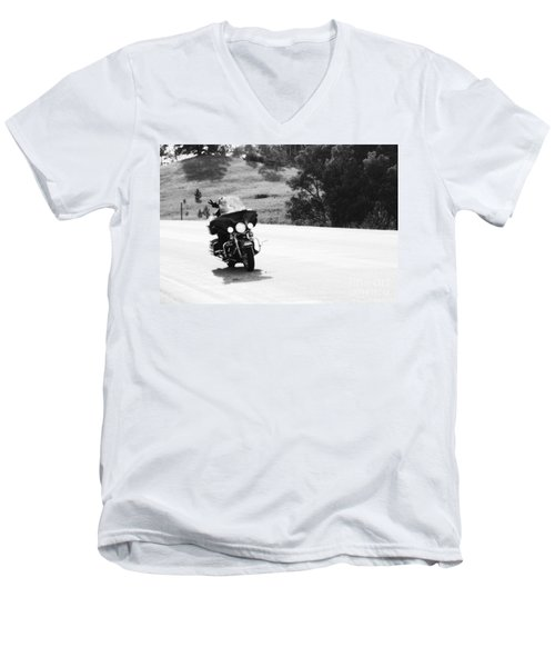 A Peaceful Ride Men's V-Neck T-Shirt