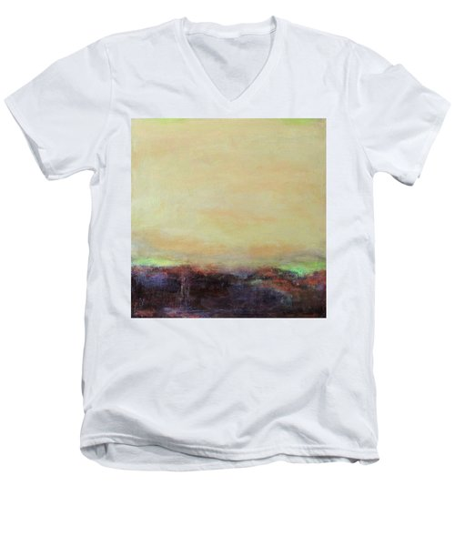 Abstract Landscape - Rose Hills Men's V-Neck T-Shirt