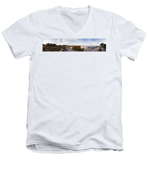 Access To The Beach Of Es Trenc Men's V-Neck T-Shirt