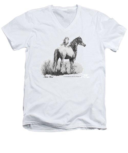 Adobe Wind Men's V-Neck T-Shirt