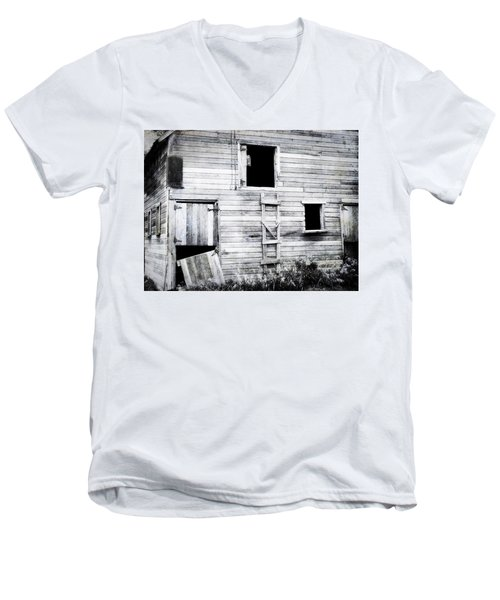 Aging Barn  Men's V-Neck T-Shirt