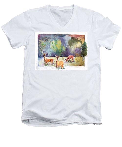 Alert Men's V-Neck T-Shirt