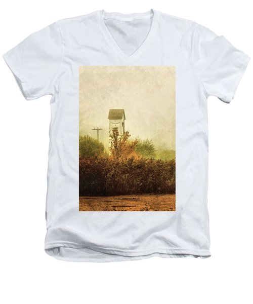 Ancient Transformer Tower Men's V-Neck T-Shirt