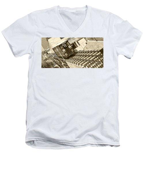 Angels Flight Men's V-Neck T-Shirt