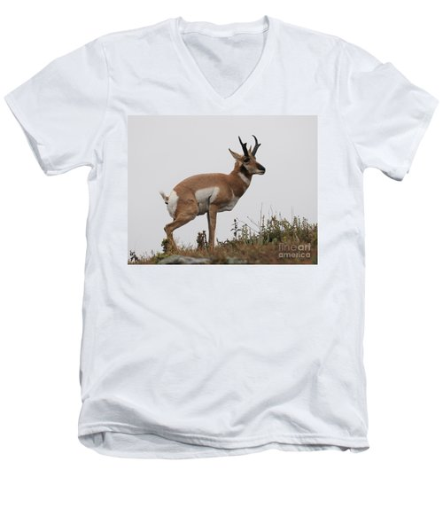Antelope Critiques Photography Men's V-Neck T-Shirt