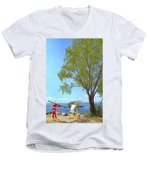 Artist's Art Men's V-Neck T-Shirt