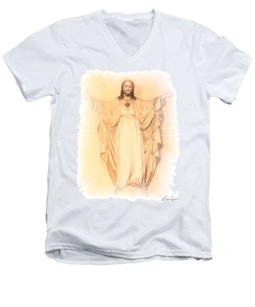Ascension Men's V-Neck T-Shirt