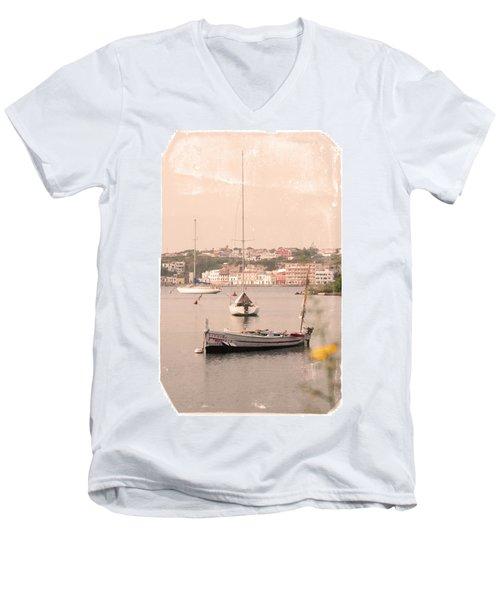 Men's V-Neck T-Shirt featuring the photograph Barbara by Pedro Cardona