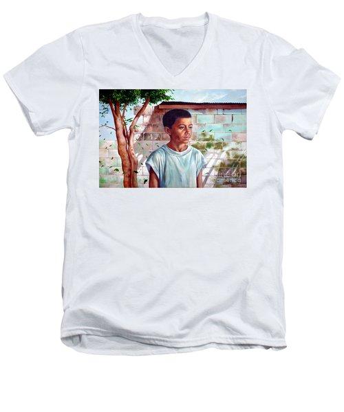 Bata The Filipino Child Men's V-Neck T-Shirt