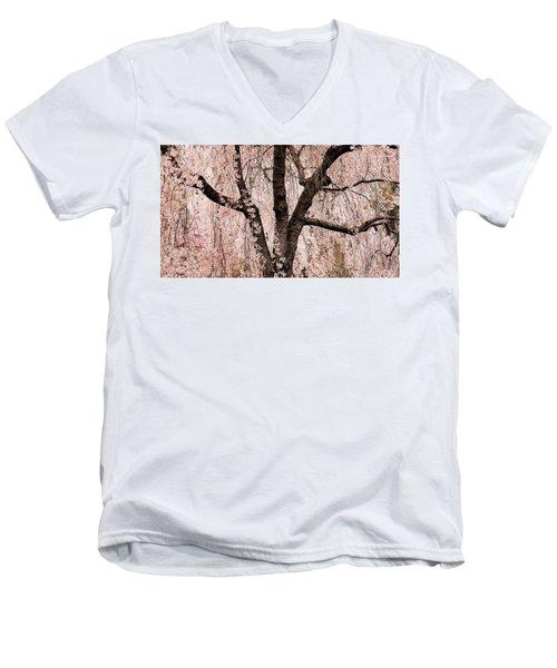 Blossom Rain Men's V-Neck T-Shirt