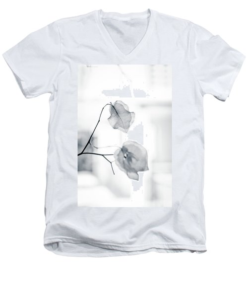Bougainvillea - High-key Lighting Men's V-Neck T-Shirt