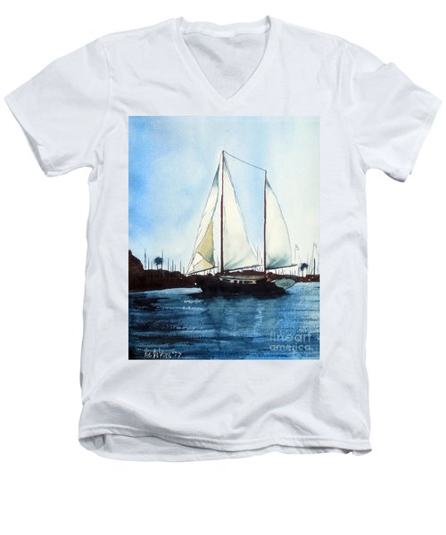 California Dreamin IIi Men's V-Neck T-Shirt
