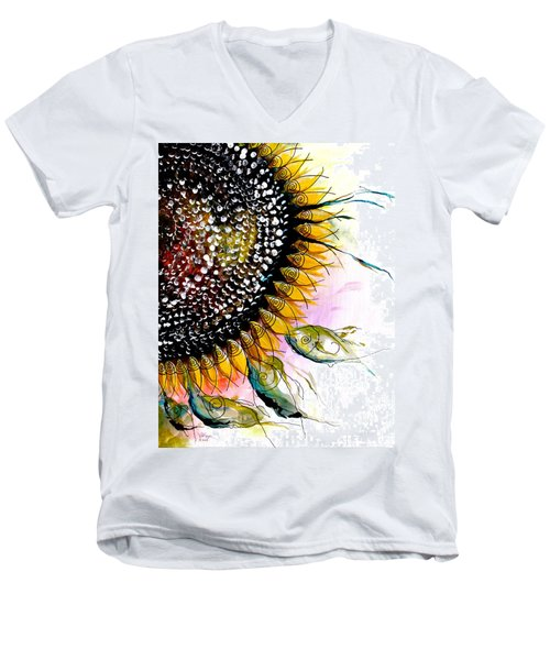 California Sunflower Men's V-Neck T-Shirt