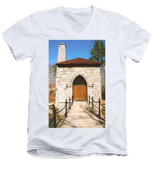 Castle Mcculloch Men's V-Neck T-Shirt